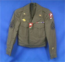 WWII US Army 70th Division Uniform Jacket w/ Medallion,  Original