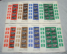 OPC 1965 Official ASDA Kennedy Churchill Poster Stamp Sets Perf & Imperf Sheets