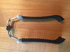 FORTIS Rubberband mit Faltschließe,  20mm, für B-42, F-43 Modelle, schwarz, Neu
