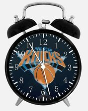 "New York Knicks Alarm Desk Clock 3.75"" Home or Office Decor W85 Nice For Gift"