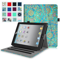 For iPad 2 / 3 / 4th Gen with Retina Display Tablet Multi-Angle Case Cover Stand
