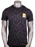 NIKE Max All Over Print T-Shirt sz XL X-Large Black Max Air Day 90 95