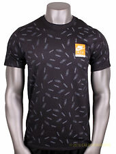 NIKE Max All Over Print T-Shirt sz M Medium Black Air Day React 90 95 97 JDI