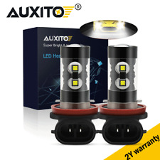 2X H11 H16 H8 CREE 100W LED  Projector Fog Driving Light Bulb 6000K White 4000LM