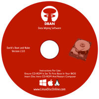 ERASE Hard Drive With DBAN Remove Destroy Wipe Clean Hard Drive Eraser Software