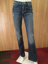 AUTHEL WILLIAM RAST STELLA LAPIS WASH BOOT CUT WOMEN JEANS SZ 28 X 33 VIC-THOR1