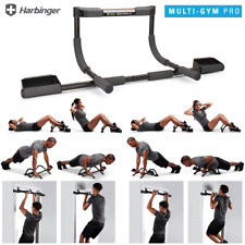 HARBINGER MULTI GYM PRO PULL-UP,  SIT-UP, PUSH-UP & DIPS / HOME GYM TRAINING BAR