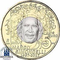 San Marino 5 Euro Münze Marco Simoncelli 2017 Sammlermünze in Münzkapsel
