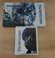 Transformers collection/job lot - Blu ray Steelbooks - OOP - Very rare