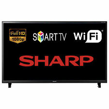 Sharp 50 Inch Smart LED Full HD 1080p TV Television Built in Freeview HD WiFi