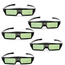 5 stücke Wireless 96-144Hz IR Shutter Brille Für 3D DLP-LINK Bereit Projektor