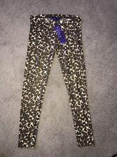 Miley Cyrus Max Leopard Print Leggings Sz M NWT