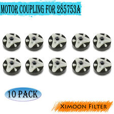10 Pack Motor Coupling Replacement Part for 285753A -Works with Whirlpool Washer
