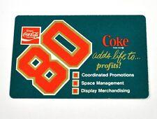 coca cola coke USA TASCABILE calendario pocket calendar 1980