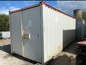 20ft X 8ft Storage Container Shipping Container Secure Store Site Cabin
