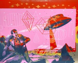 Peter Mars Art UFO Mufon Aliens Outer Space Abduction Top Secret Bob Lazar