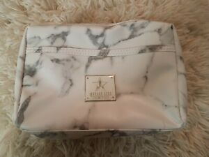 Jeffree Star Cosmetics White Marble Makeup Bag CREMATED Collection NEW