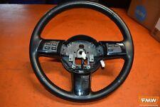 09-11 Mazda RX8 RX-8 OEM R3 Black Leather Steering wheel w/ Red Stitching