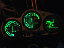 GREEN ZX6R f1 f2 f3 led dash clock conversion kit lightenUPgrade
