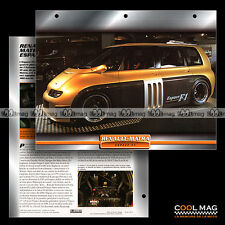 #105.07 ★ RENAULT-MATRA ESPACE F1 1994 ★ Proto Concept-Car Fiche Auto Car card