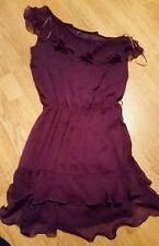 E-vie Patternless Polyester Dresses for Women