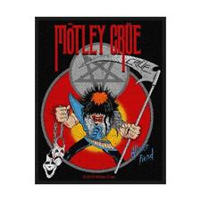 OFFICIAL LICENSED - MOTLEY CRUE - ALLISTER FIEND SEW ON PATCH HEAVY METAL ROCK
