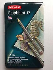 Derwent Graphitint Pencils - Tin Set of 12
