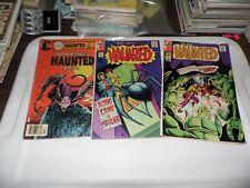 Charlton Haunted Comics #7 #11 and #78