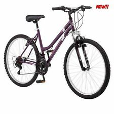 "26"" Roadmaster Granite Peak 18 Speed Women's Mountain Bike, Girls Bicycle Purple"