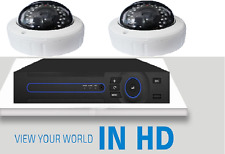 2 Stück Überwachung KAMARA 1080AHD UND HD READY 1,3 MP SET MIT DVR RECORDER