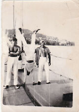 1950s RARE Nude muscle men sailors have fun gay interest Russian Soviet photo