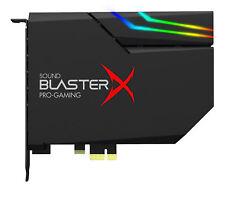 Creative Sound Blasterx Ae-5 negra RGB Aurora PCIe