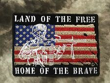 Land of the Free Home of the Brave Patch