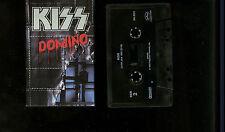 Kiss Domino USA Cassette Single Tape Rare !