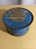 Rare USSR Russian Canned Sturgeon Black Caviar Tin Box Original 8