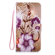 Flip Card Pouch Wallet Pu Leather Accessories Case Cover For Various Cell Phone