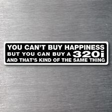 Buy a 320i sticker Premium 7 yr vinyl water/fade proof BMW badge parts