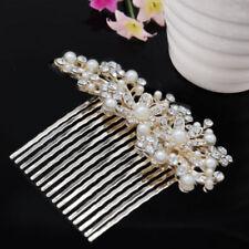 Accessoires peigne à cheveux rose pour la mariée