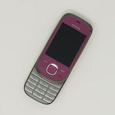 Nokia 7230 3G-PINK SLIDE TELEFONO CELLULARE-condizioni di lavoro-VODAFONE veloce P & P