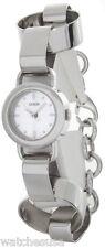Guess Women's Silver Dial Stainless-Steel Quartz Bracelet Style Watch W75054L1
