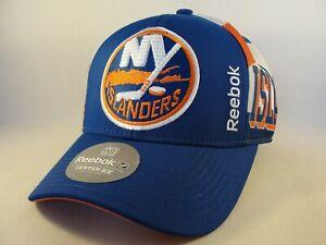 New York Islanders NHL Reebok Snapback Hat Cap Blue Orange White