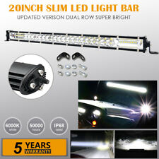 20'' Inch 180W LED Work Light Bar Combo Off-road Driving Car Truck Boat VS 22""