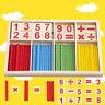 Rechenstäbchen Kinder Spielzeug Mathe Holz Stäbe Zahl Zählen Spielzeug