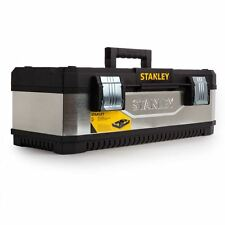 Stanley Galvanised Metal / Plastic Tool Box 26 Inch 1-95-620 (CLEARANCE)