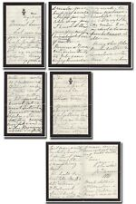 Victoria, Queen (1819-1901) - 7 pages autograph letter signed to granddaughter