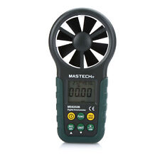 Mastech Digital Anemometer Measure Air Temperature & Humidity w/ USB Cable