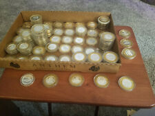 50 Assorted Casino Silver Strikes in Capsules Exc Cond. From All over