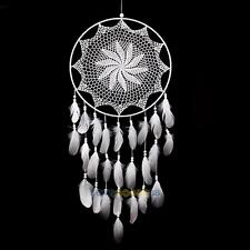 Large Handmade Dream Catcher with White Feathers Wall Hanging Decoration Craft