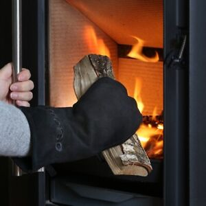 MORSO FIRE AND GRILL LEATHER GLOVE - RIGHT HAND - WOOD FIRE / HEATER - FIREPLACE
