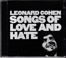 LEONARD COHEN - SONGS OF LOVE AND HATE - CD - NEW -